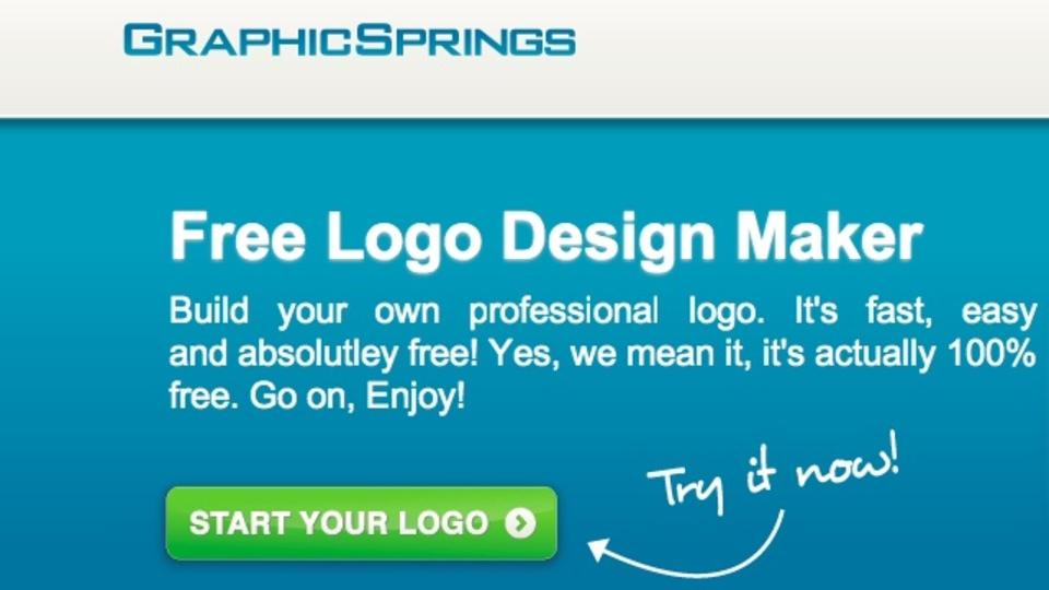 手軽にスタイリッシュなロゴを作成できるサイト「GraphicSprings」