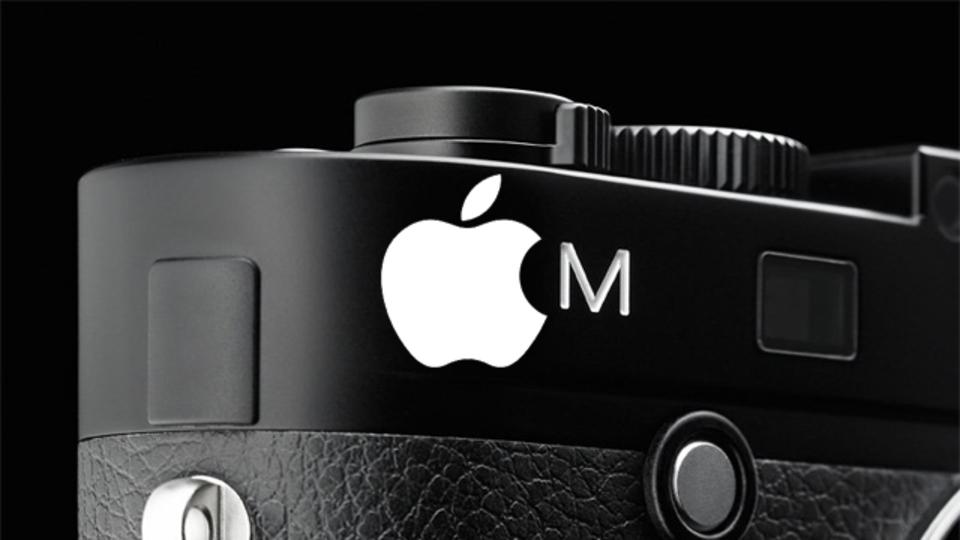 Appleのジョナサン・アイヴ氏デザインのライカM登場、のウワサ