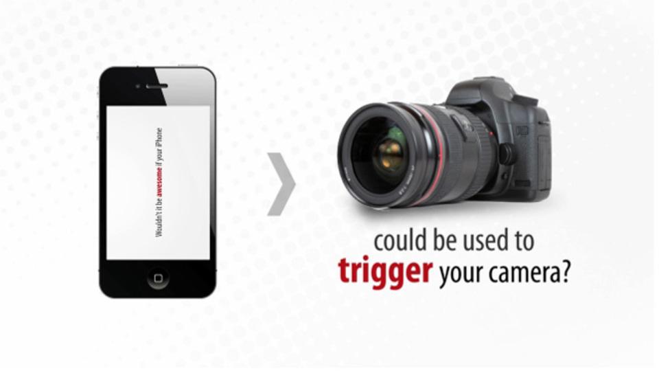 スマートフォンからデジタル一眼レフカメラを遠隔操作できる「TriggerTrap」