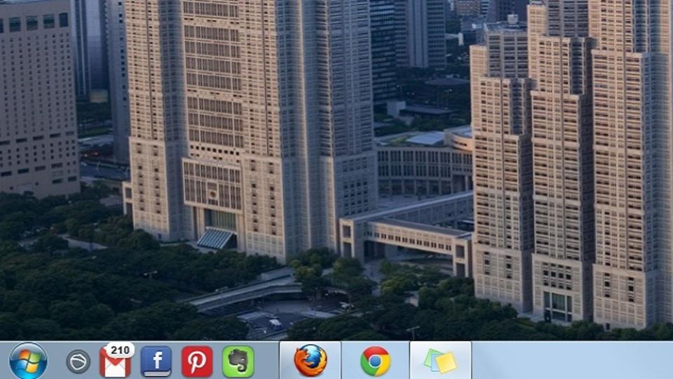 Windows版の拡張機能? タスクバーにSNSなどを常駐させるアプリ