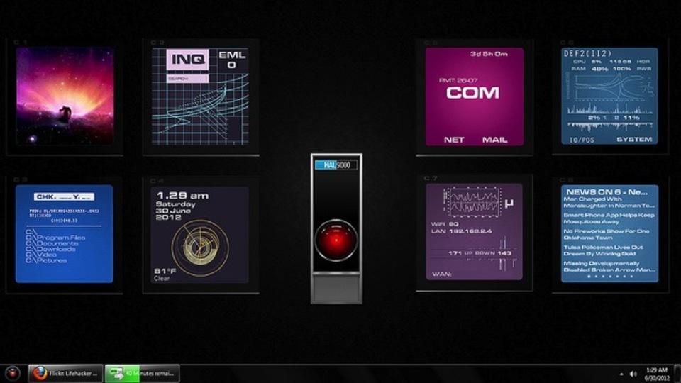 『2001年宇宙の旅』HAL 9000デスクトップ~究極のデスクトップを求めて