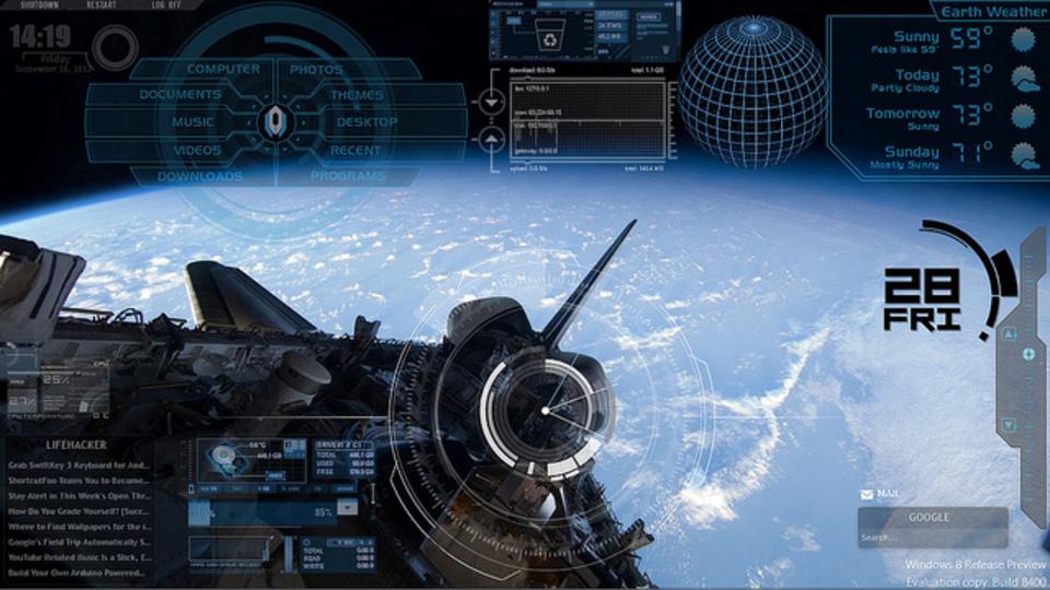 軌道制御デスクトップ~究極のデスクトップを求めて