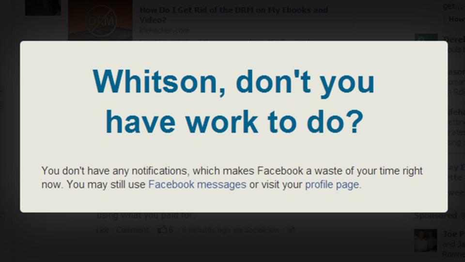 Facebookへのアクセスを制限できるChrome拡張機能『Facebook Nanny』
