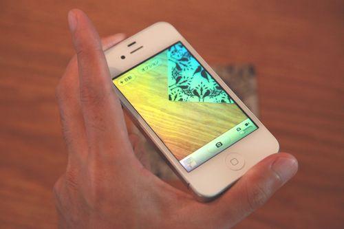iPhoneのシャッター音を爽やかに小さくする方法2