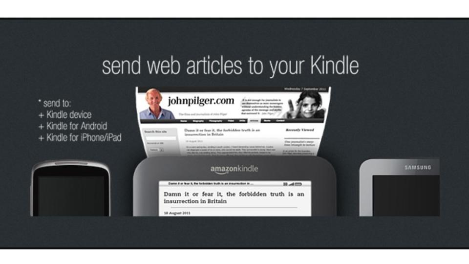 任意のウェブページをKindle仕様に変換して送ってくれる「fivefilters」
