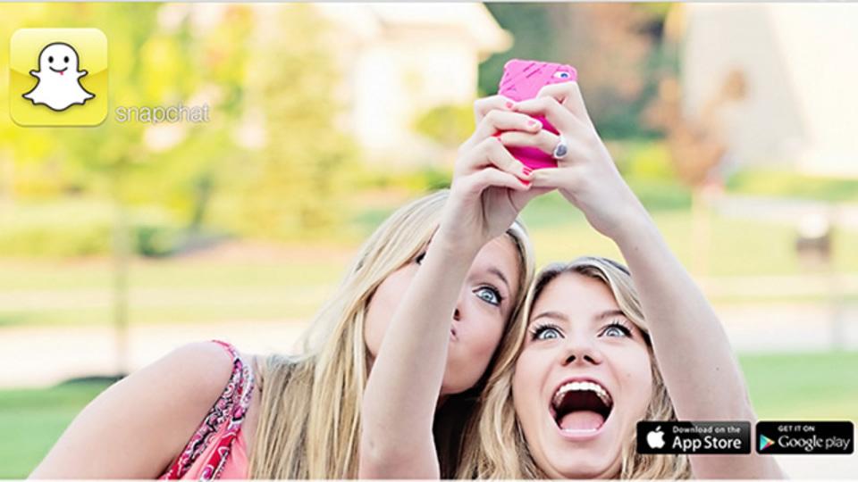 一瞬の風になれ! 10秒間だけ写真を共有するアプリ「Snapchat」
