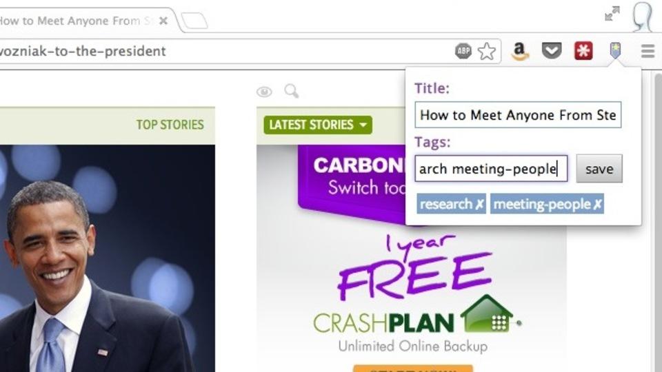 タグ付けで簡単に『Chrome』のブックマークを管理
