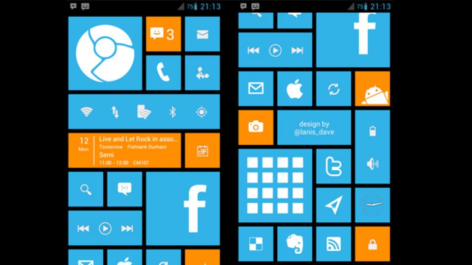 AndroidなのにModern UIなホーム画面 ~究極のホーム画面を求めて