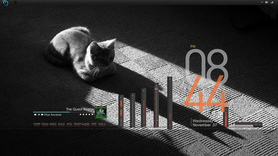 うとうと猫デスクトップ 〜究極のデスクトップを求めて