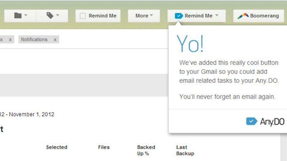 Gmailをタスク管理ツールに進化させるアプリ『Any.DO』
