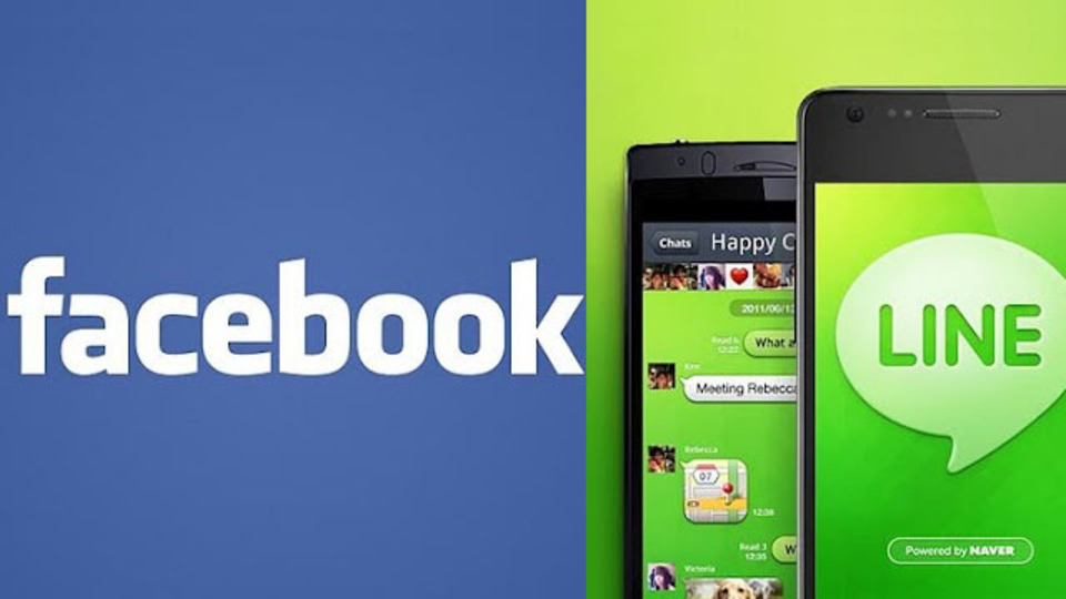電話番号不要! 『LINE』がFacebookアカウントで利用可能に