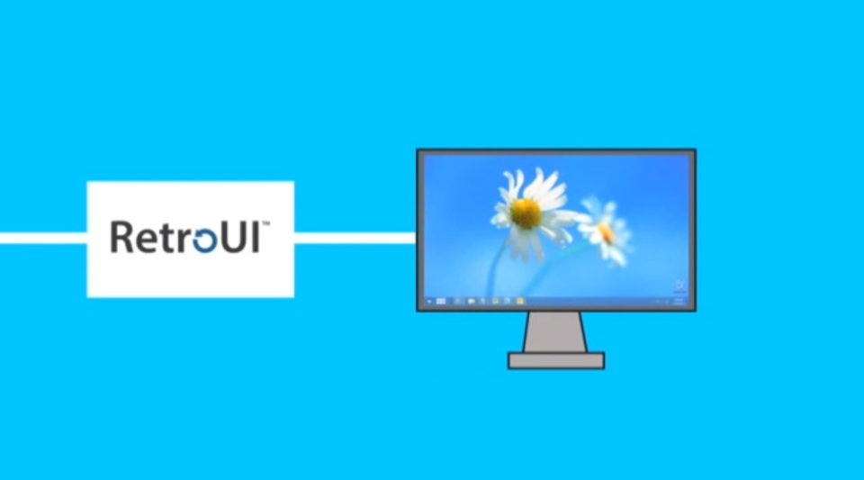 Windows 8を従来のUIで使いたいなら『RetroUI』が便利!