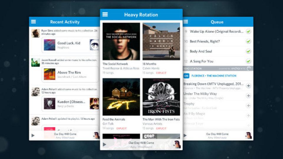 音楽ストリーミングサービス『Rdio』がアプリ最新版をリリース