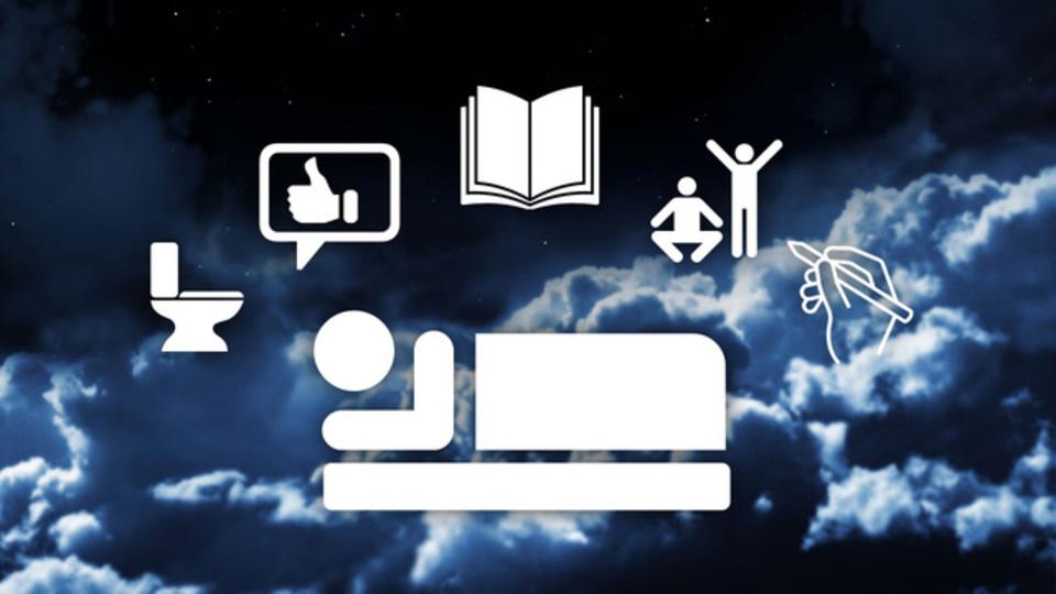 寝つきをよくする9つの方法、ぐっすり眠れる3つの方法