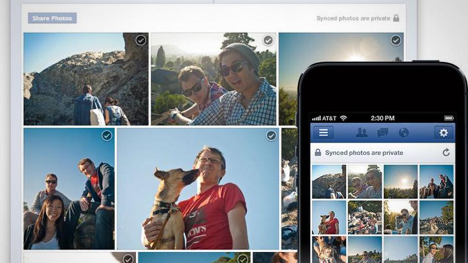 iOS、Androidで撮影した写真をFacebookへ自動同期可能に!
