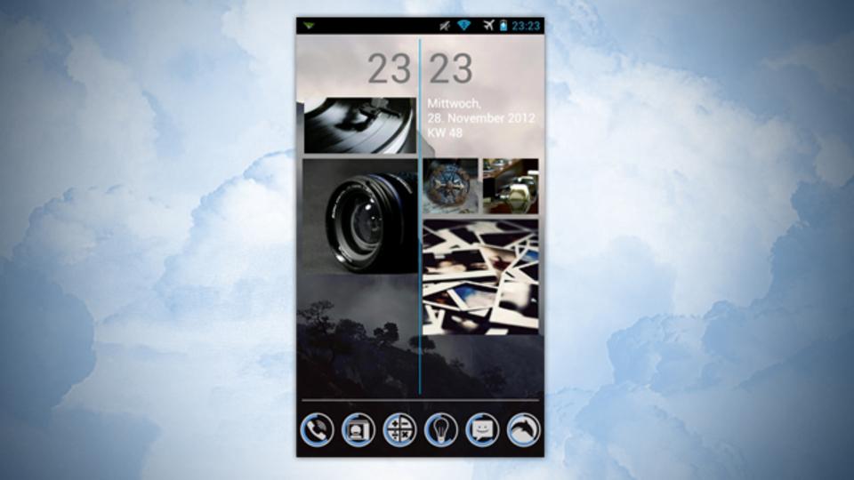Windows Phoneっぽいホーム画面~究極のホーム画面を求めて