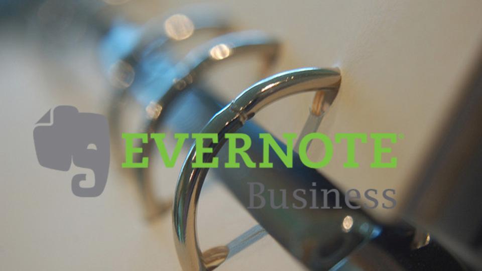 ナレッジ継承にも最適! プレミアム強化版「Evernote Business」提供開始