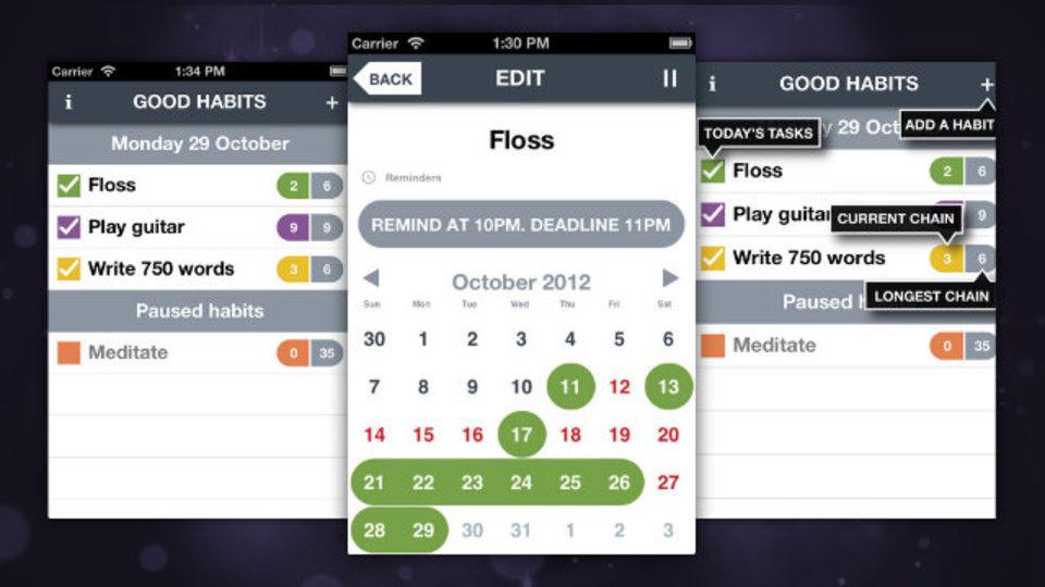 新しい習慣を定着させたいときに役立つiPhoneアプリ「Good Habits」