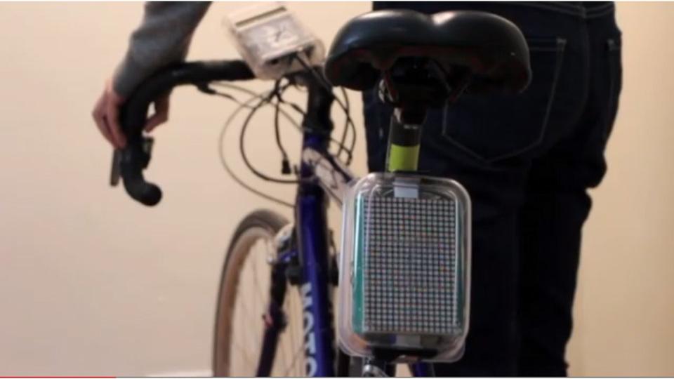 安全性も大きく向上! 12000円で自転車をハイテク化