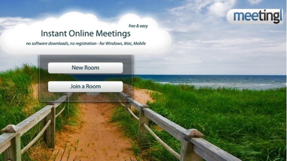登録不要ですぐにウェブ会議ができるサービス「meetingl.com」