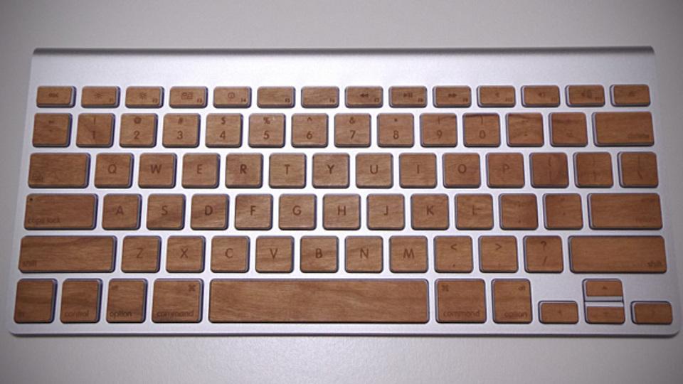 キーボードを木製に換える『Lazerwood Keys for Apple Wireless Keyboard』良いところ、悪いところ【前編】