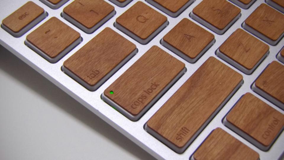 キートップを木製に換える『Lazerwood Keys for Apple Wireless Keyboard』良いところ、悪いところ【後編】