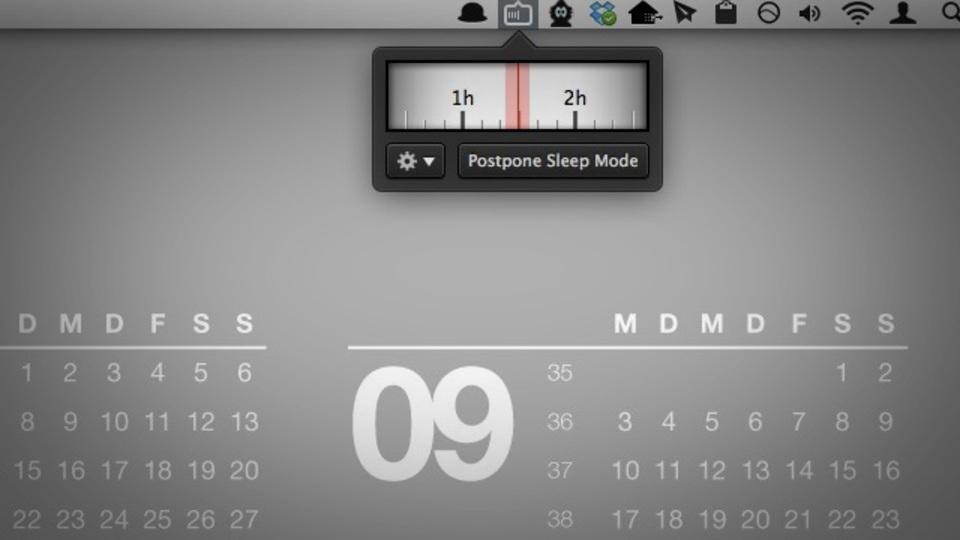 タイマー設定でスリープさせないMac用アプリ『Sleep No More』