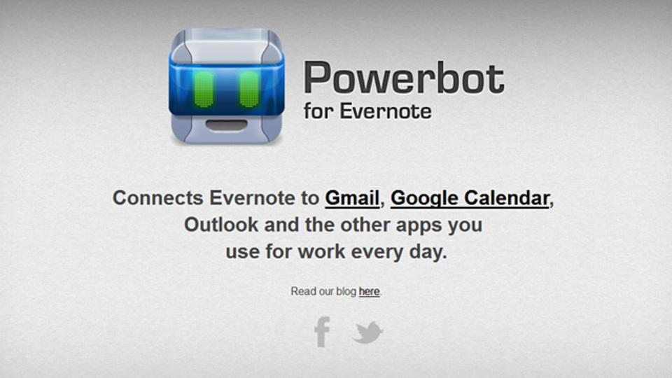EvernoteとGmail/Google カレンダーの連携をスムーズにする拡張機能『Powerbot』