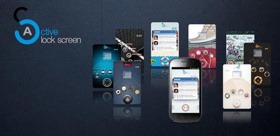 スマホのロック画面にショートカットをつくれるアプリ『Active Lock Screen』