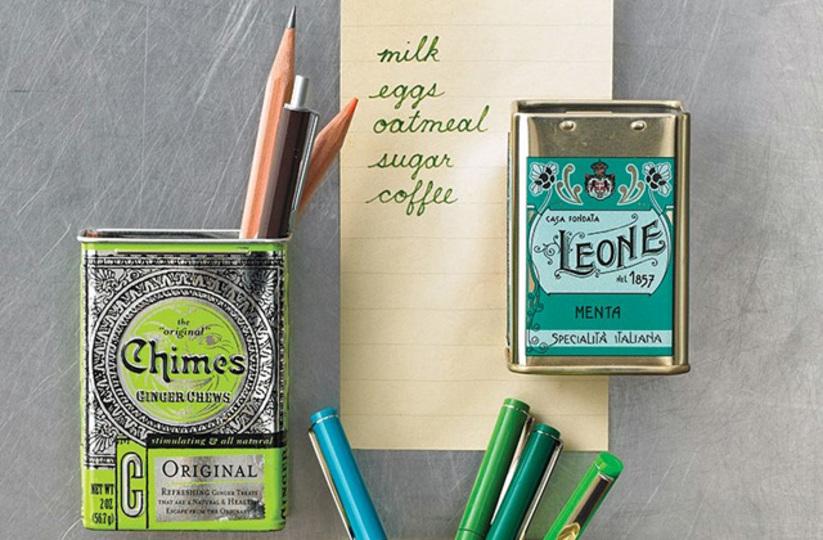 紅茶やキャンディーの缶でつくるストレージボックスがお手軽かわいい