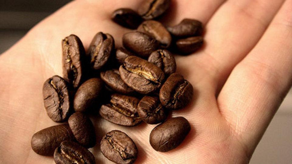 手についた食べ物の臭いにはコーヒー豆が効く