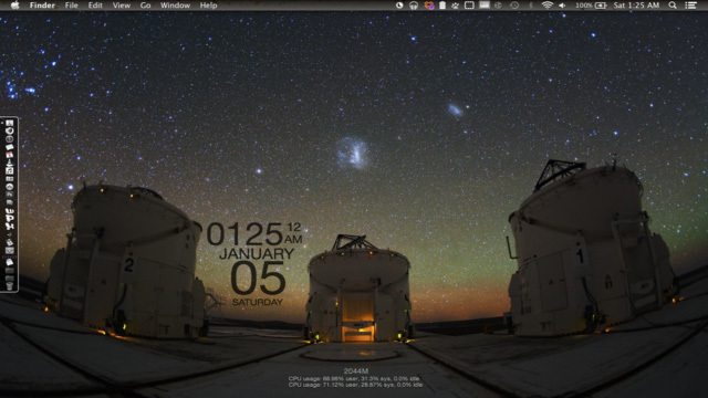 天体観測デスクトップ~究極のデスクトップを求めて