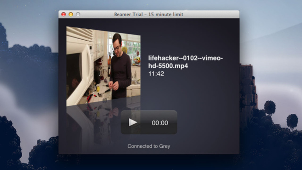 Apple TVと合わせて買いたい! ドラッグ&ドロップで動画をストリーム再生する『Beamer』