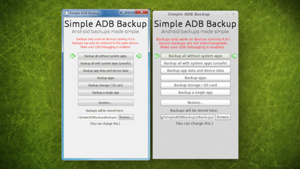 AndroidのデータをPCへ保存! Root化不要で使えるアプリ『Simple ADB Backup』