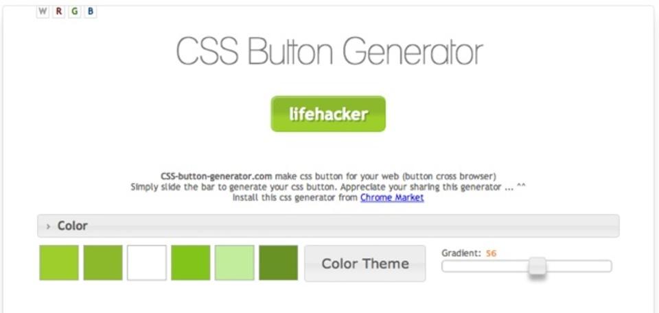 CSSでボタンを手軽に作るなら「CSS Button Generator」が便利