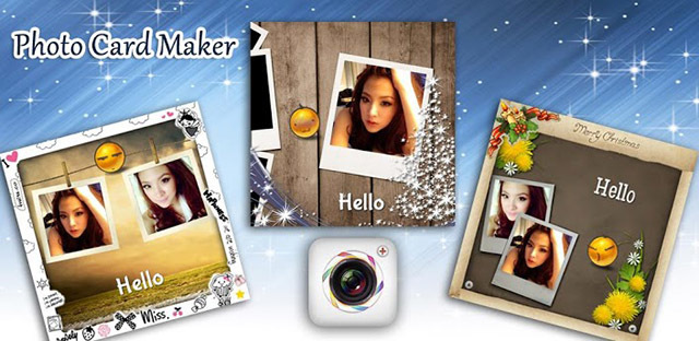 ちょっと凝った写真メッセージをすぐに作成できるアプリ『インスタカード』