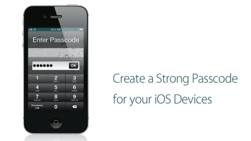 iPhone&iPadのパスコードをさらに強力にするワザ