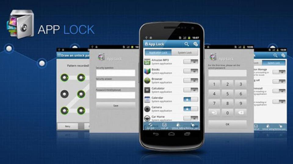 勝手に開かれたくないアプリに鍵をかける『イージーロック』