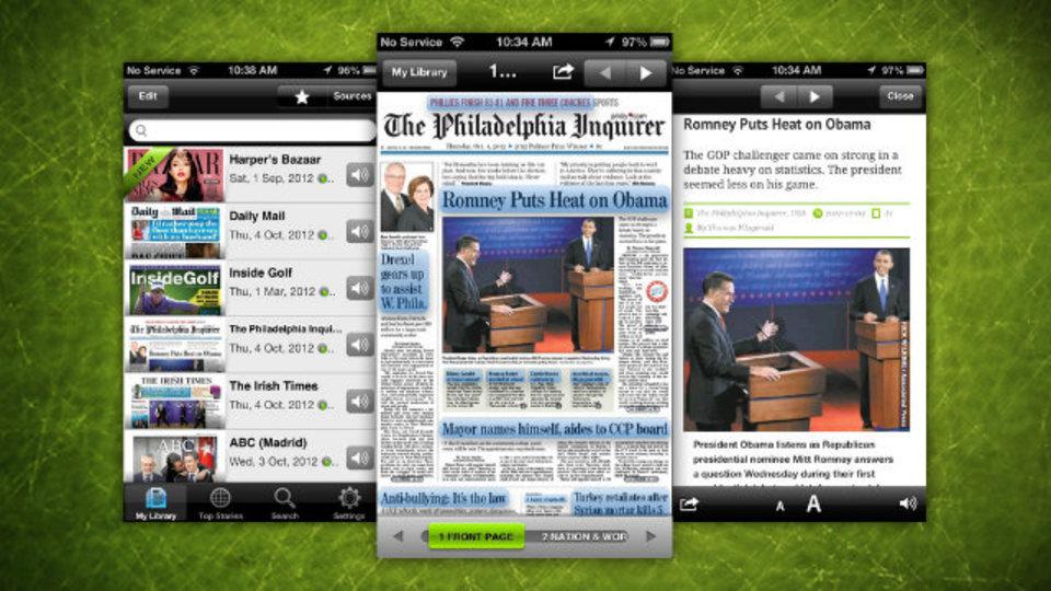 「ニュースは新聞で読みたい派」必見のiOS用新聞アプリ『PressReader』
