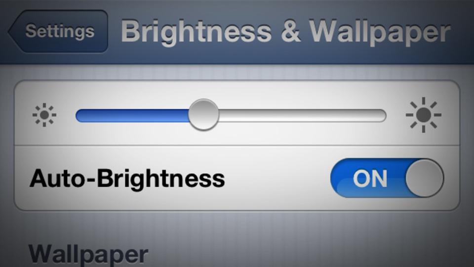 iPhone/iPadの「明るさの自動調節」不具合に効果的な方法