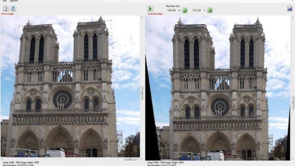 被写体が傾いてしまった画像を自動修正できる『Perspective Image Correction』