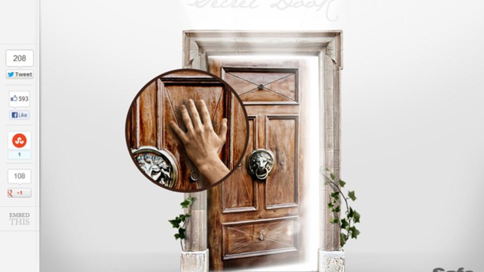 ワンクリックで世界中をトリップできる『The Secret Door』がすごい