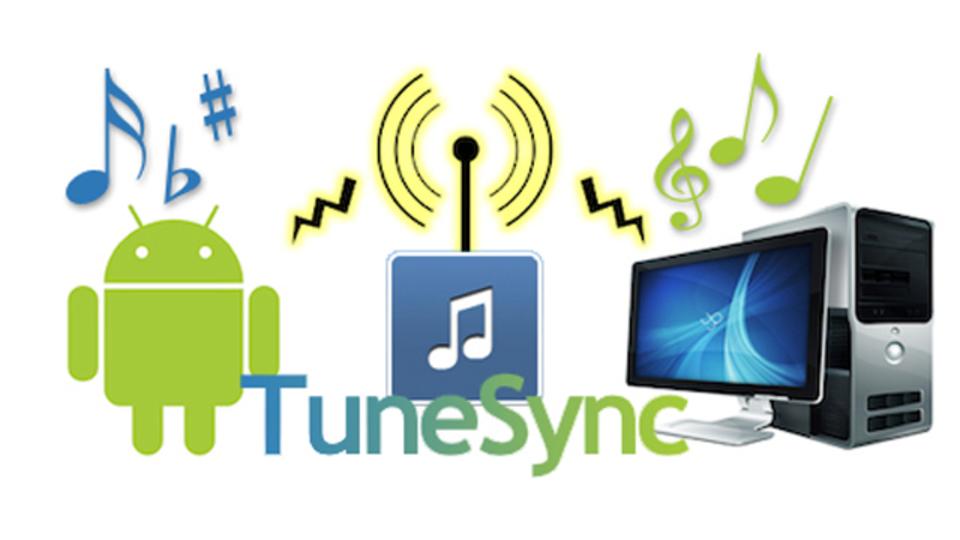 iTunesの曲をAndroid端末と同期できるアプリ『チューンシンク』