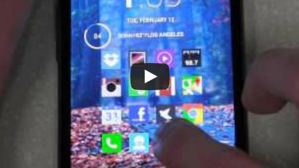 Androidのホーム画面ショートカット数を倍にするにはスワイプを使おう