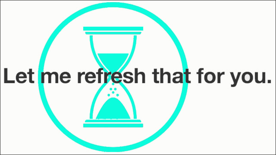 指定したページを自動的に更新してチェックできるサイト「Let me refresh that for you」