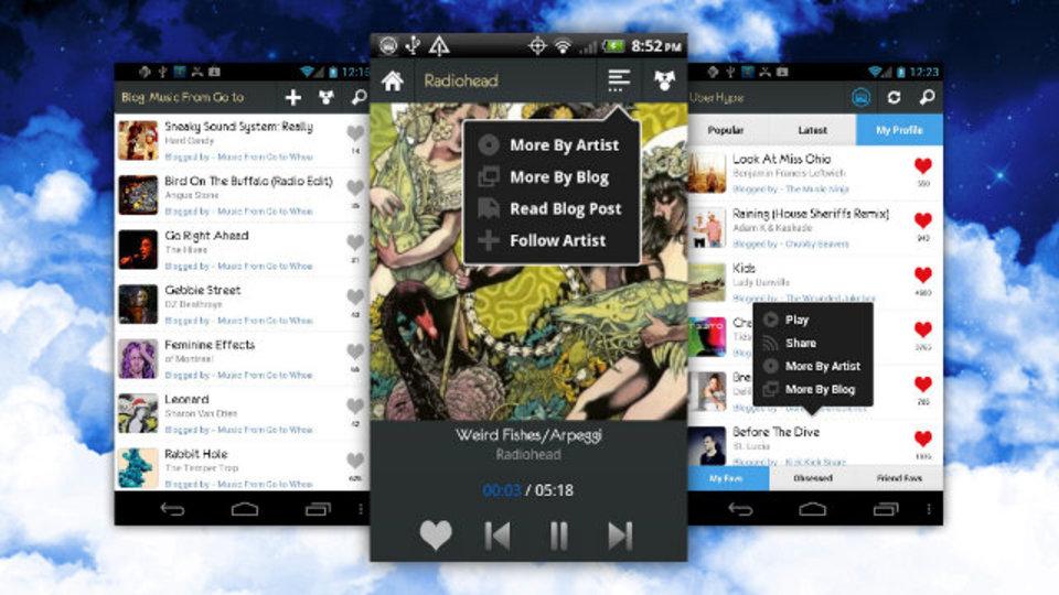 新しい音楽開拓をどこででも。Androidアプリ『UberHype』