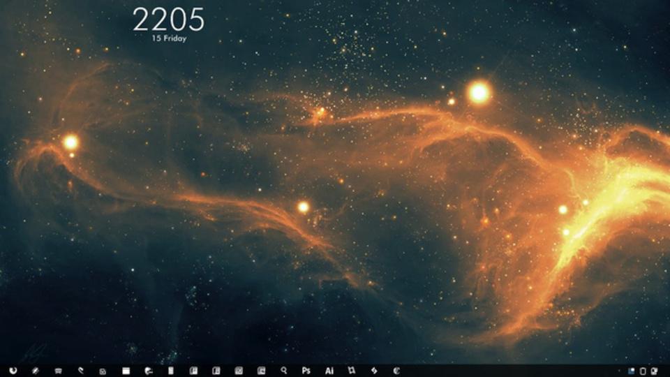 星雲デスクトップ~究極のデスクトップを求めて