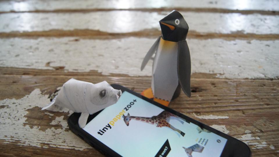 ペーパークラフト作成アプリ『Tiny Paper Zoo Plus』で、オリジナルの動物園をつくろう
