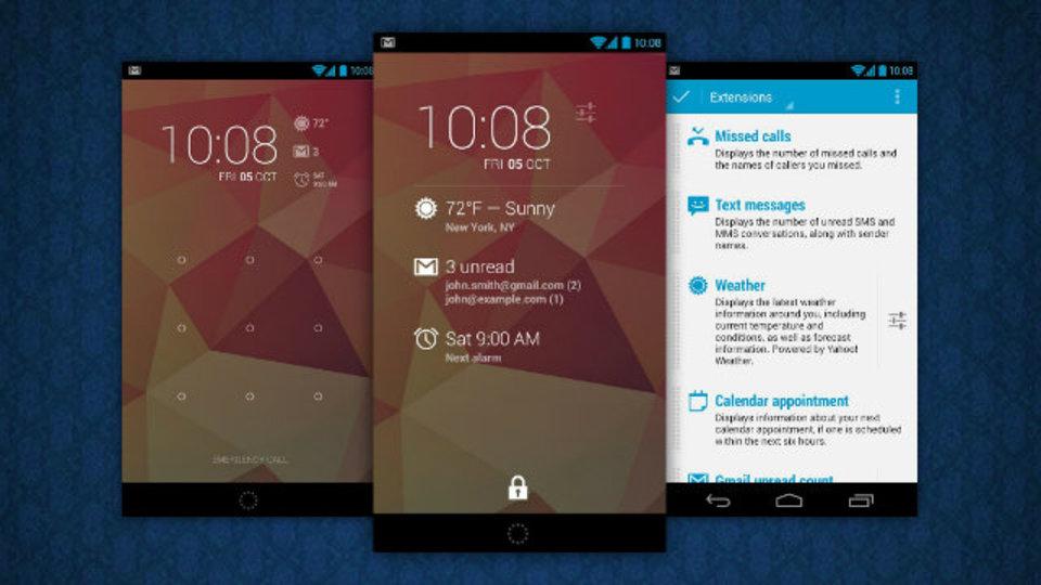 Androidのロック画面にあらゆる情報を表示させることができる時計ウィジェット『DashClock』