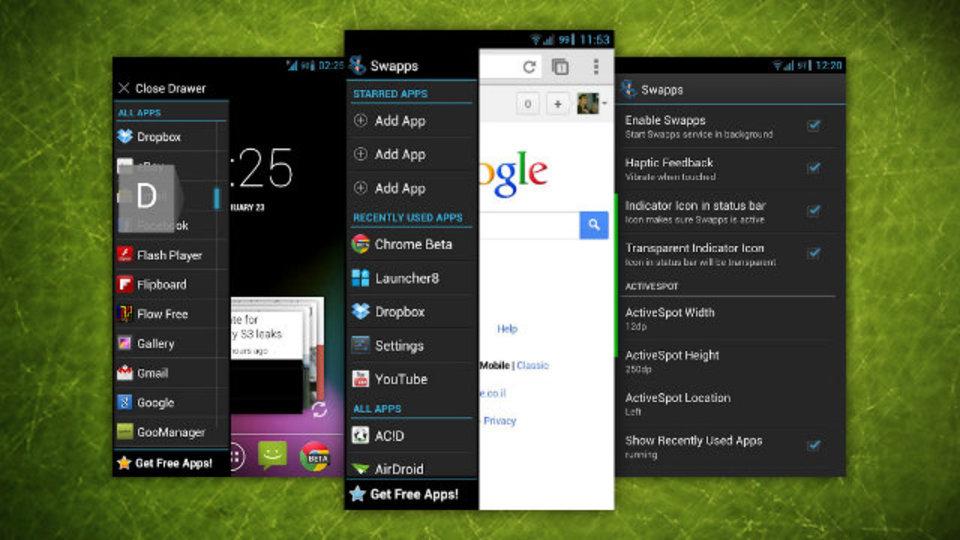 アプリをスマートに使いこなしたい派なら試しておきたいAndroid用ツール『Swapps!』